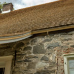 Jean Hasbrouck House New Shingle Roof